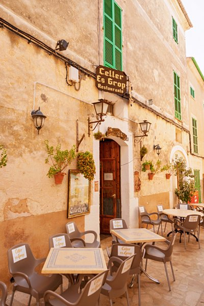 Mallorca Island cafe