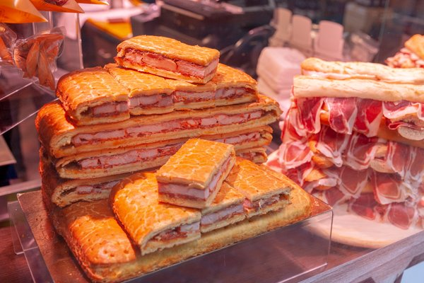 delicious food on Palma tours