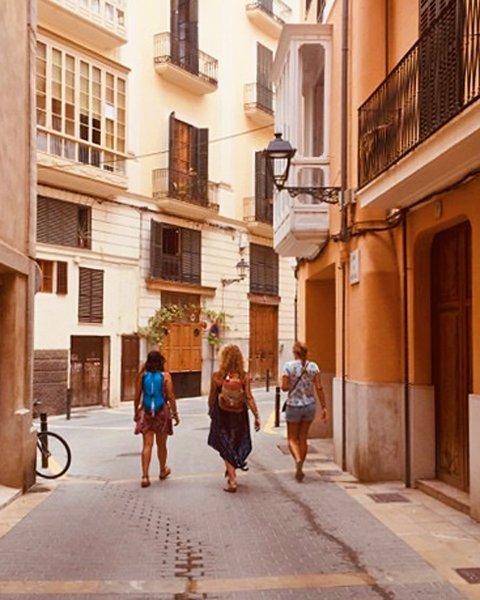 street tour of Palma