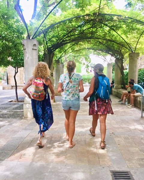 Walking tour of Mallorca Island